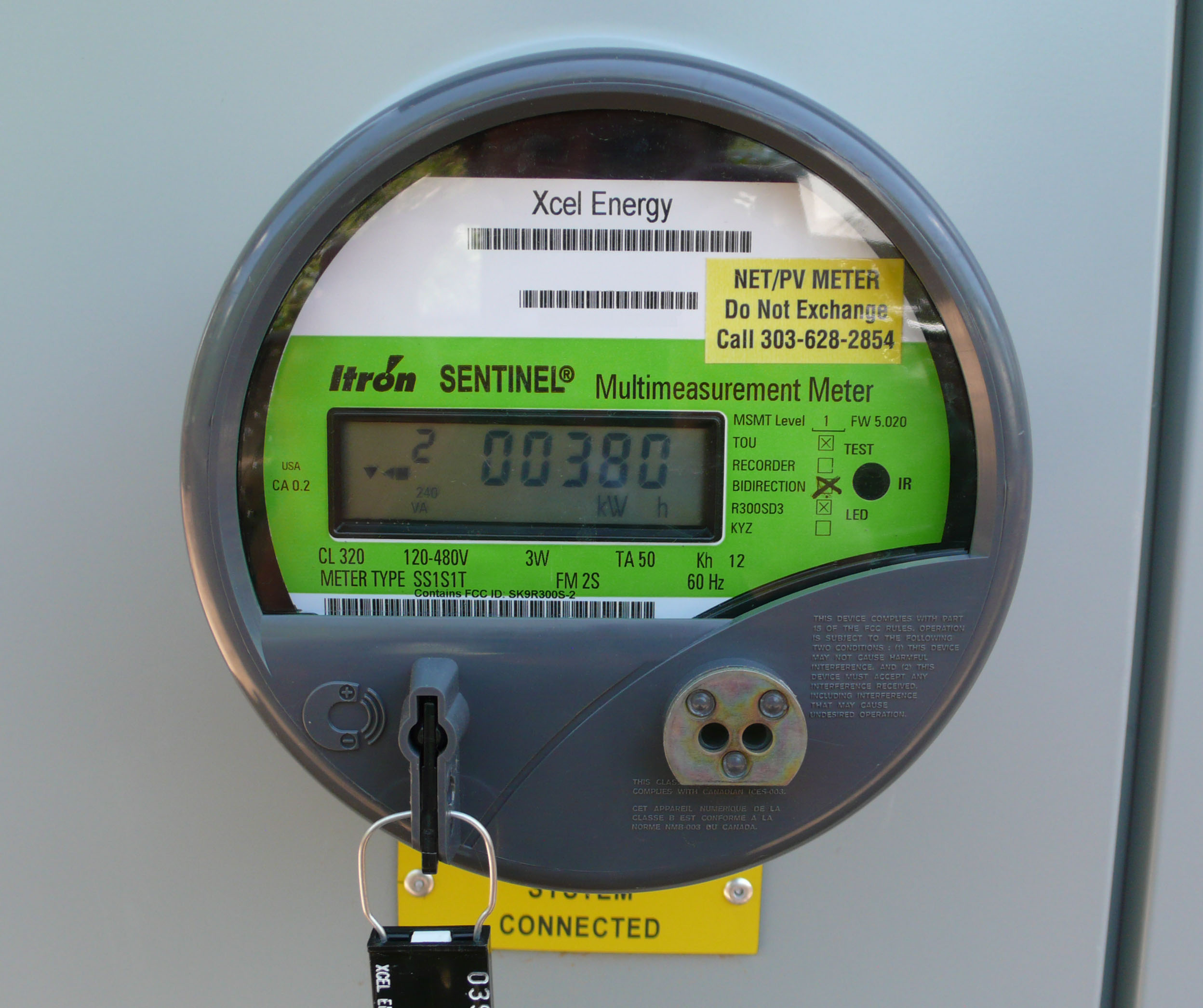 net PV meter