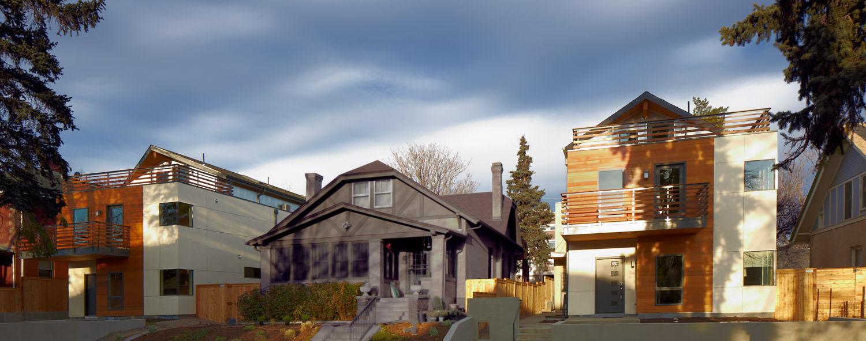 Race - modern duplex denver city park west