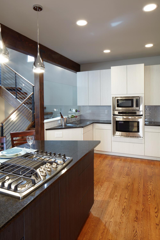 Race - modern duplex denver kitchen