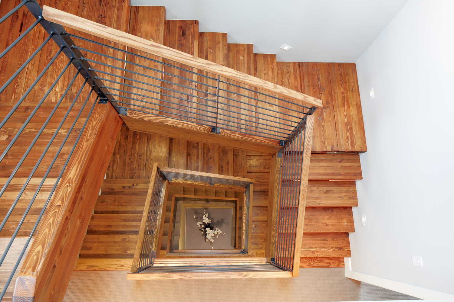 Race - modern duplex denver ornamental stair