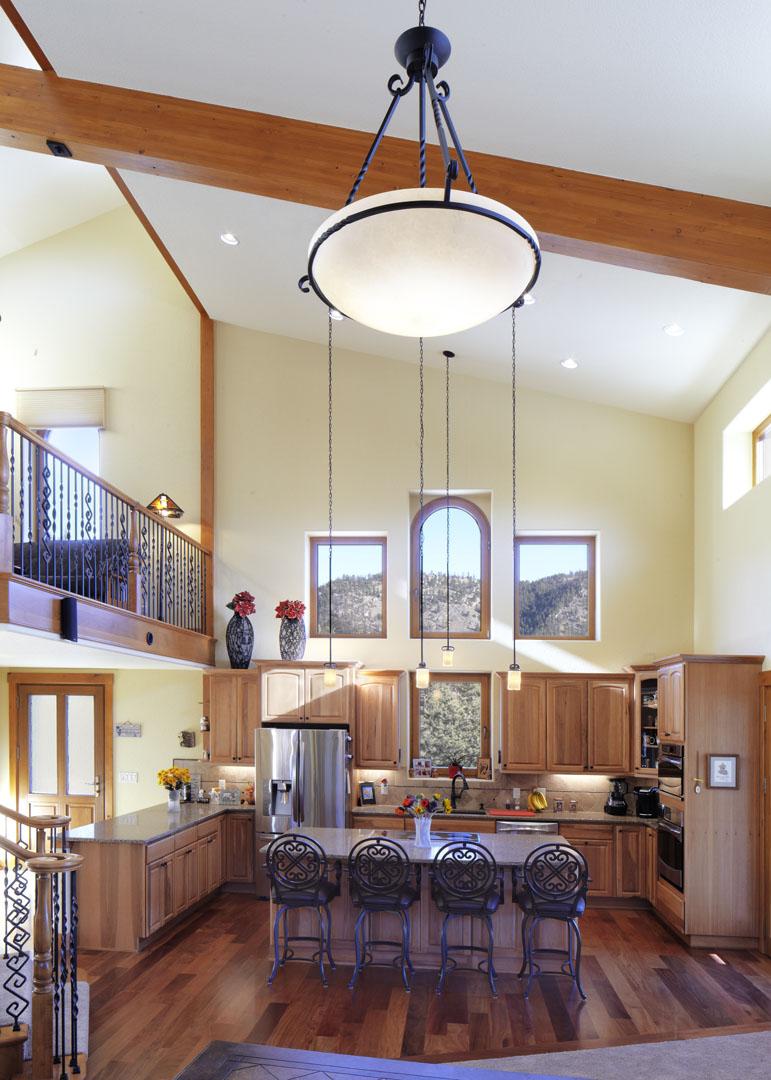 passive kitchen view