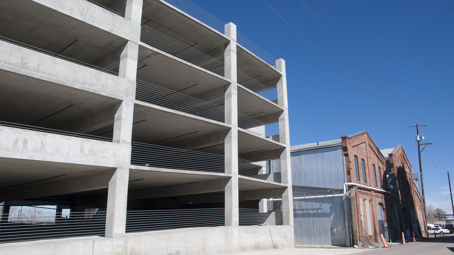 Denver Colorado Parking Garage Design-Engineering Site Cast 2